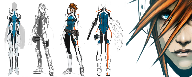 Character Design Anime Studio Story : Coffee stain studios