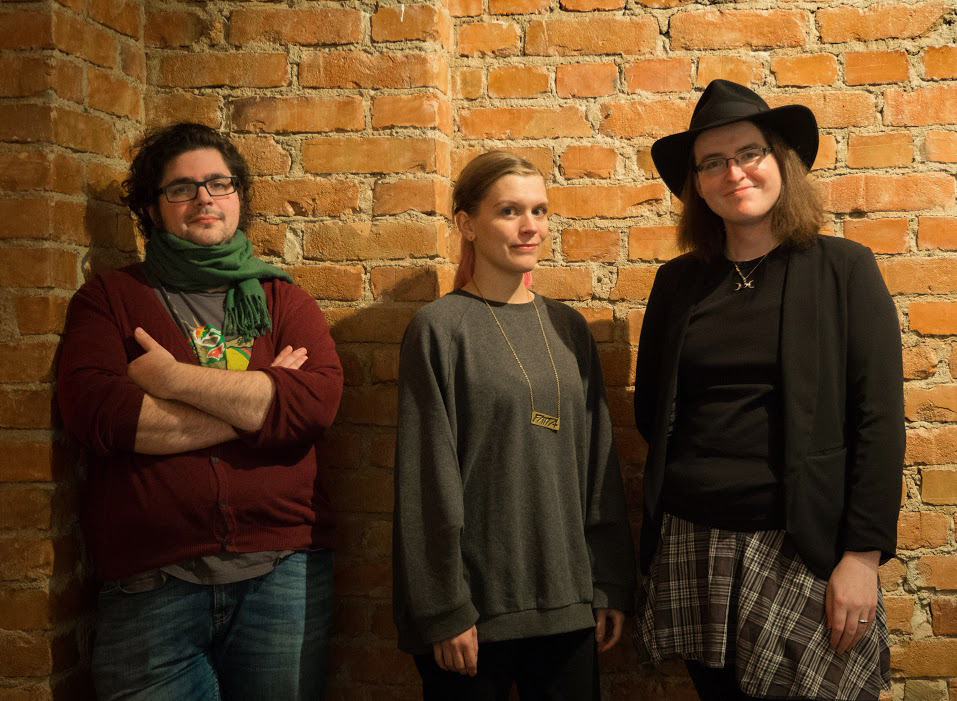 From left: Samson Wiklund, Siri Hallberg Söderström, and Gemma Thomson.